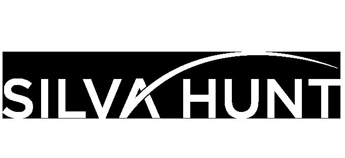 Silva Hunt Logo White